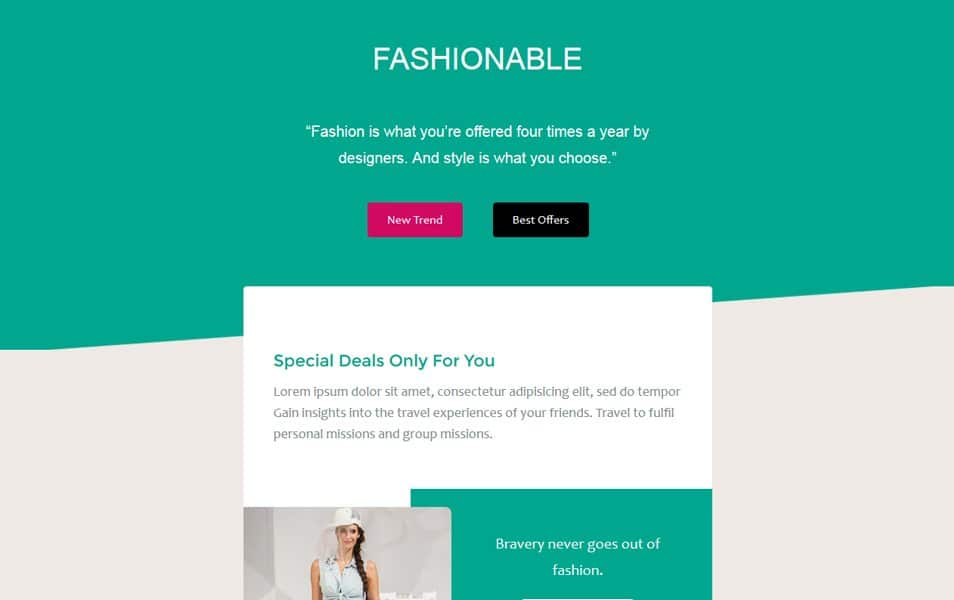 60 responsive html email newsletter templates css author fashionable a newsletter responsive email template maxwellsz