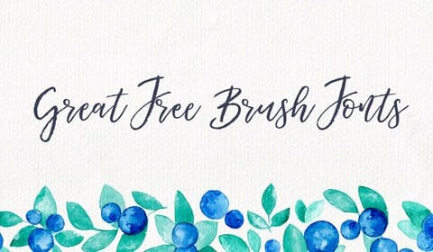 50 free brush fonts for designers css author m4hsunfo