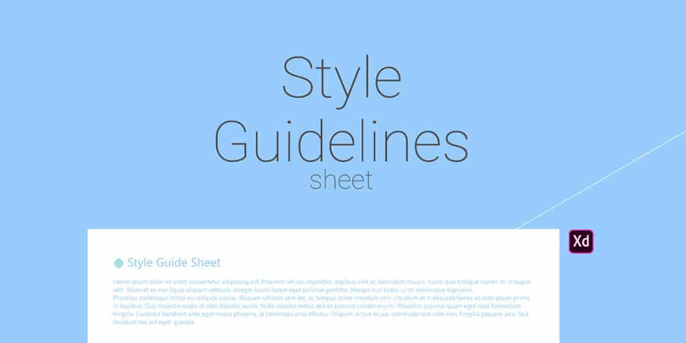 Free Style Guidelines Sheet