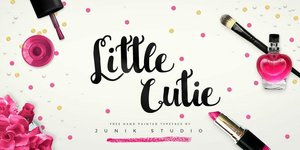 50 free brush fonts for designers css author