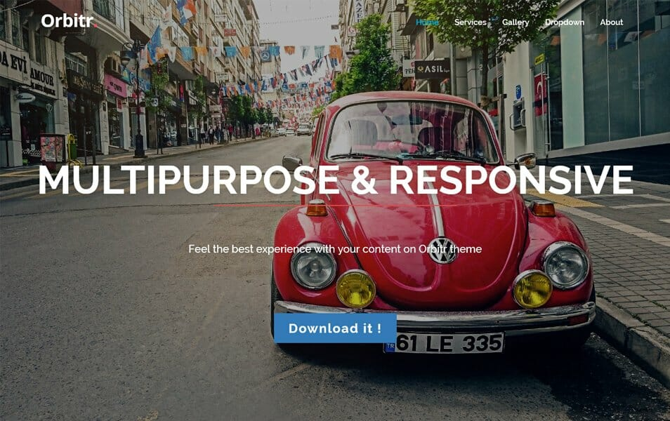 Orbitr Responsive WordPress Theme