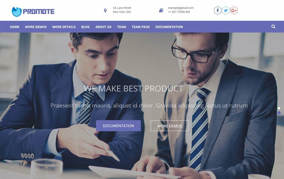 Promote Responsive WordPress Theme