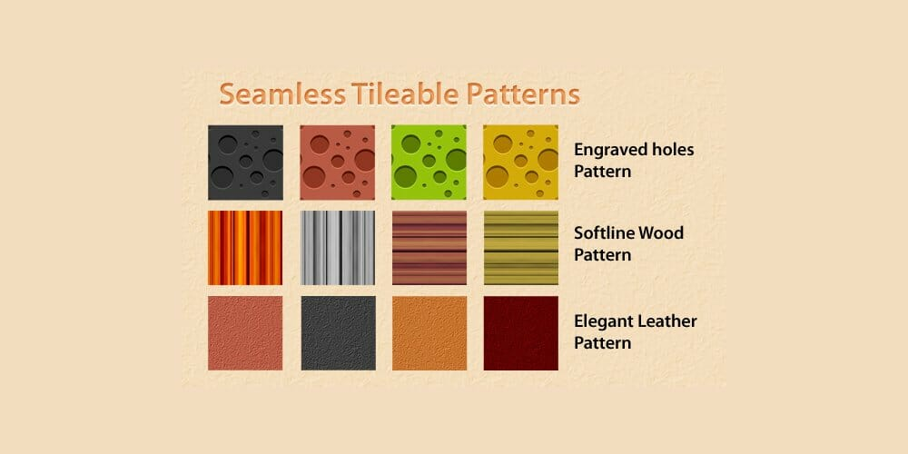 Seamless Tileable patterns