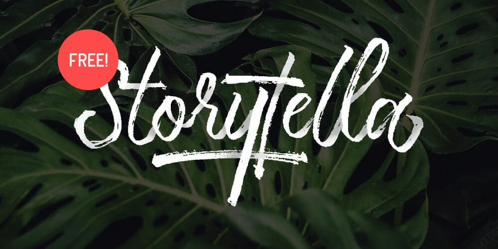 Storytella Brush Script