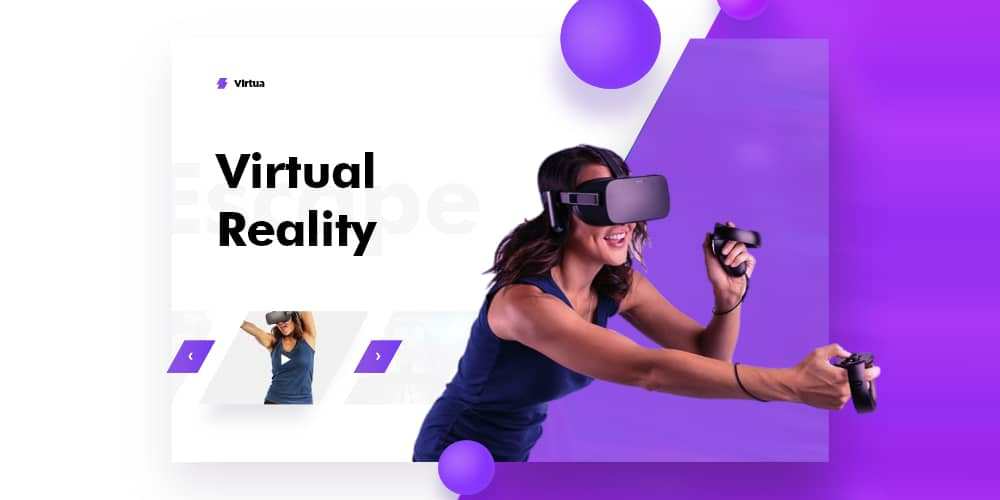 Virtual Reality Template