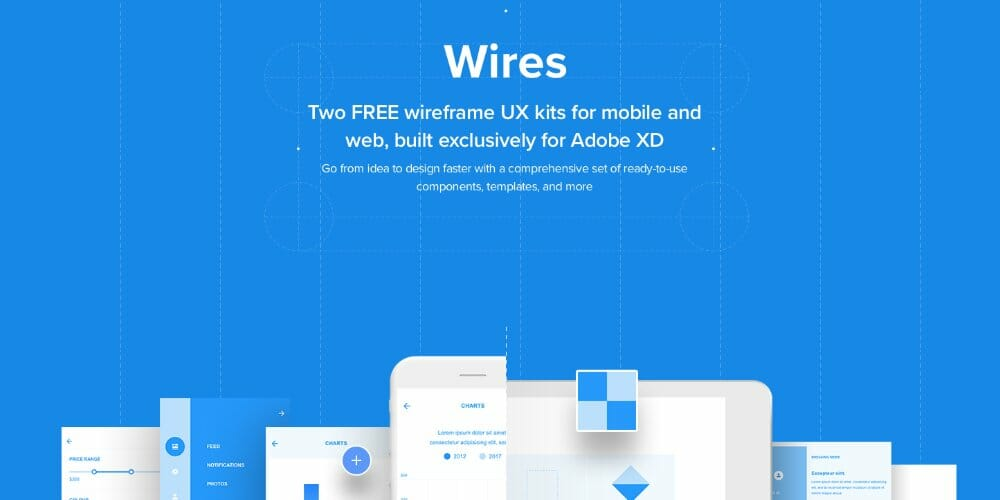 Wires Wireframe kits for Adobe XD