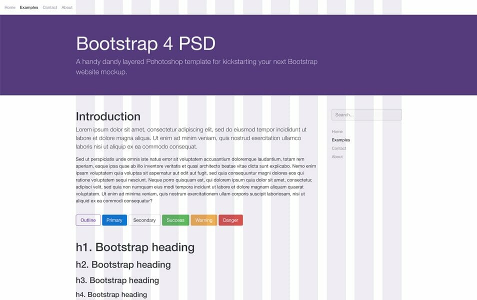 50+ Best Free Bootstrap 4 Templates 2018 » CSS Author