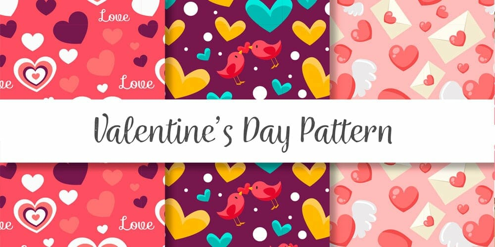 Cute Valentines Day Patterns