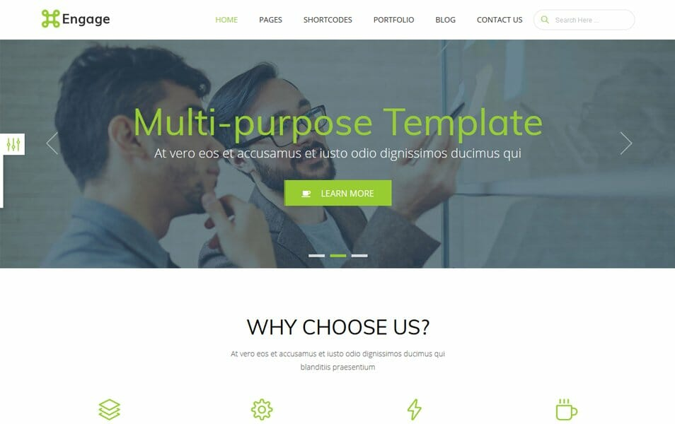 engage is free and premium bootstrap 4 template it is first ever bootstrap 4 multi purpose website template engage is responsive multi purpose website