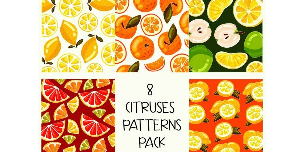 Free Citruses Patterns