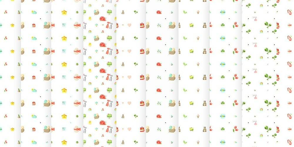 Free Easter Eggs Patterns Textures