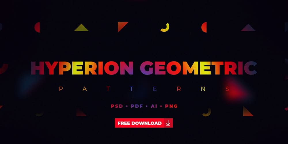 Free Hyperion Geometric Patterns