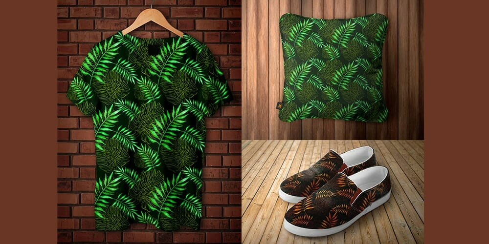 Free Tropical Patterns PSD