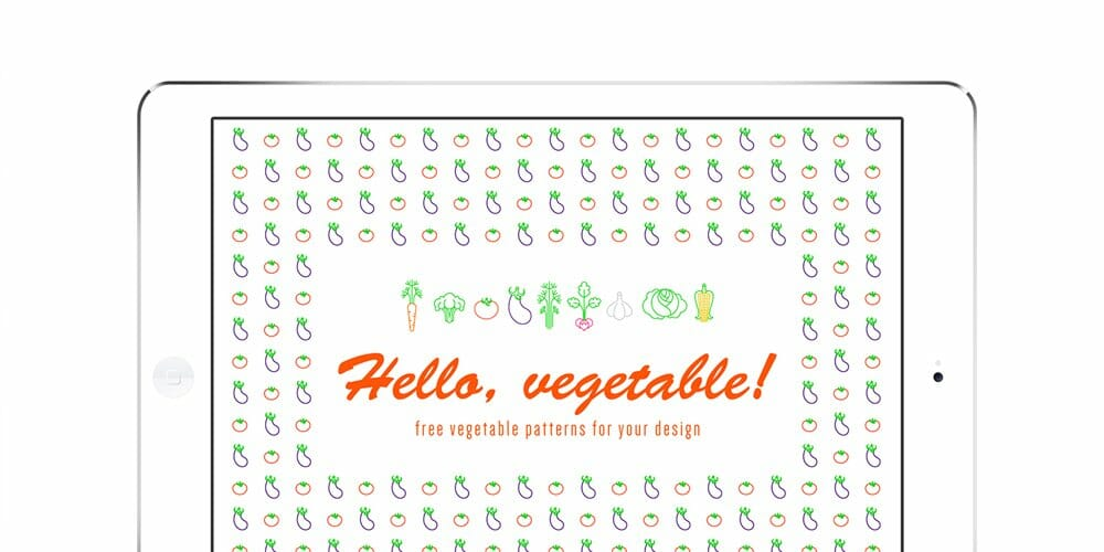 Free-Vegetable-Vector-Patterns