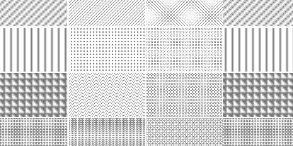 Repeatable Pixel Patterns