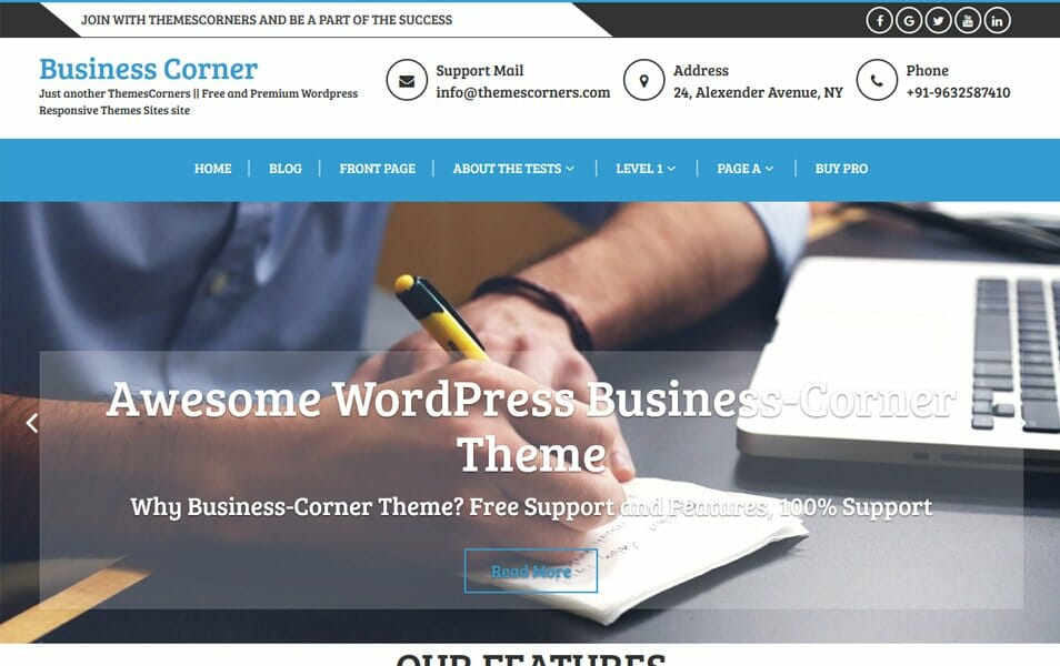 750+ Best Free Responsive WordPress Themes 2018 » CSS Author