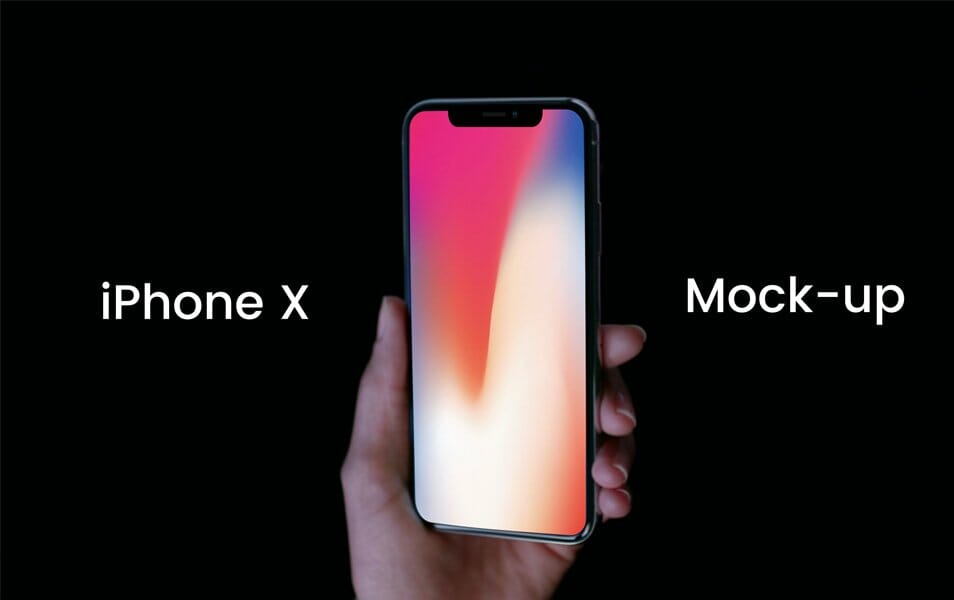 Free iPhone X Mock-up