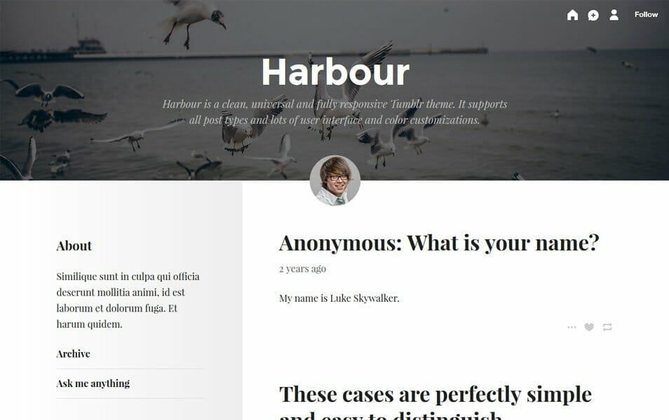 50 best free responsive tumblr themes 2018 css author
