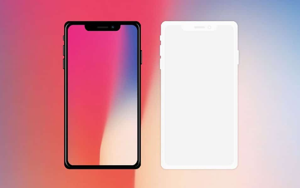 IPhone X free device mockups