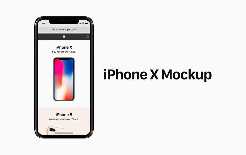150 Free Iphone X Mockup Templates Resources Css Author