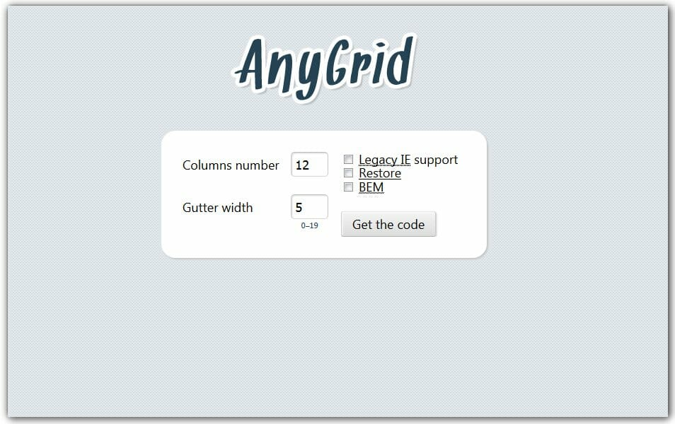 AnyGrid