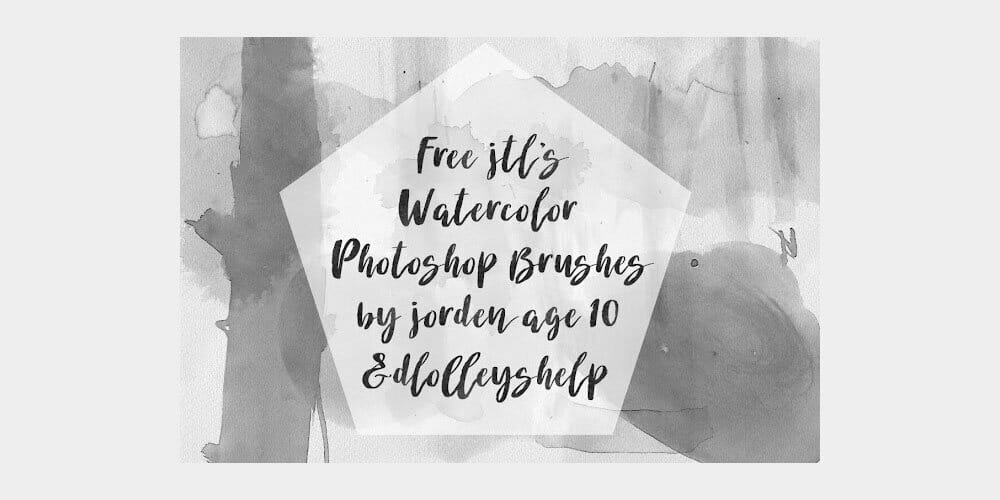 Free JTL'S Watercolor Photoshop Brushes
