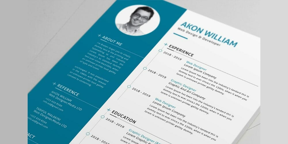 Free-Resume-Vector-Template