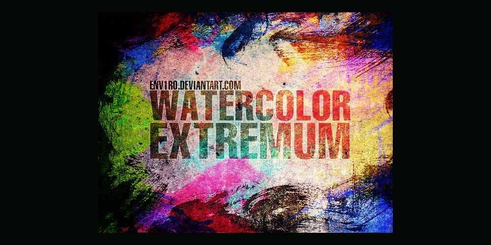 Free WaterColor Extremum