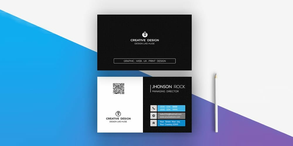 100 free business cards psd the best of free business cards professional modern business card psd reheart Choice Image