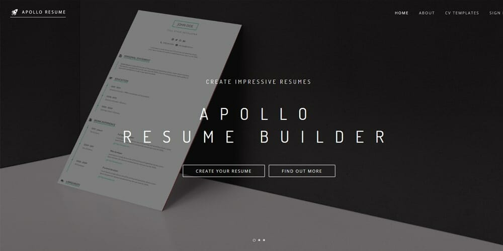 Apollo Resume Builder