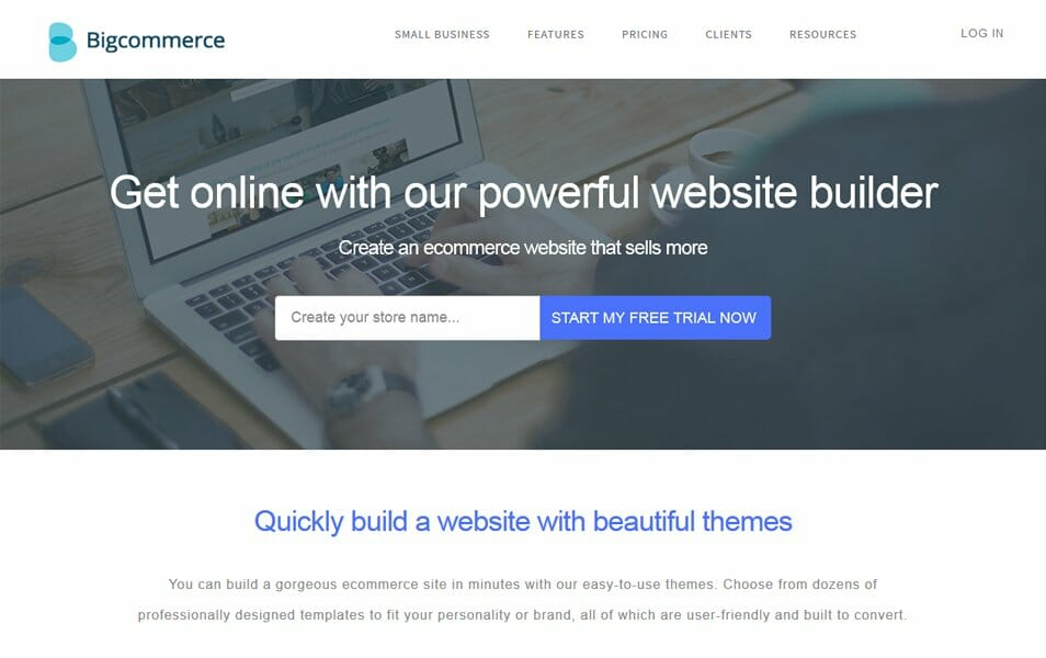 BigCommerce Website Builder