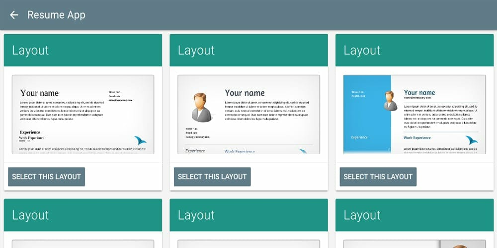 Best Online Resume Builders Free Premium Css Author