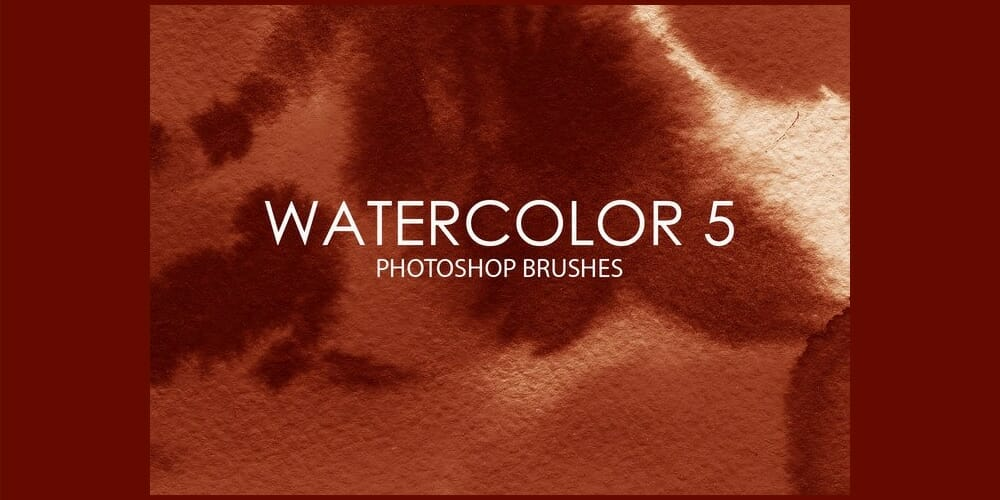 Free Watercolor Photoshop Brushes