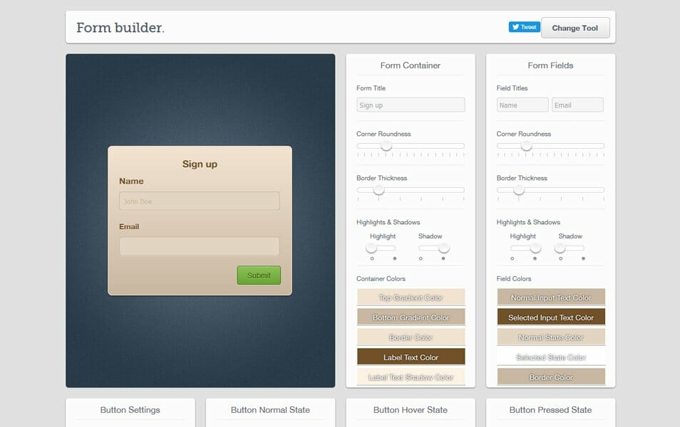 Live Tools | Form Builder