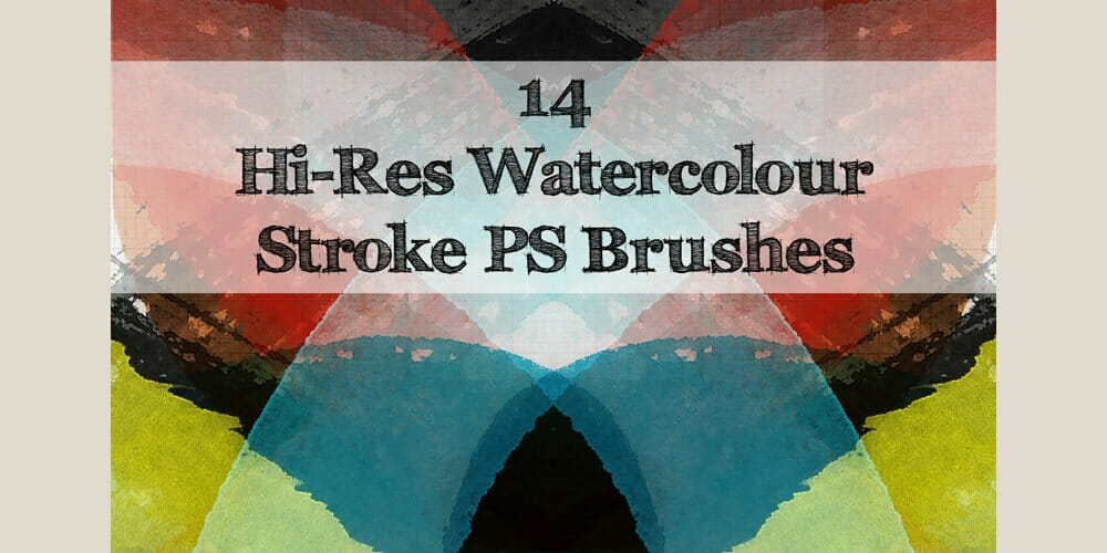 Watercolour Strokes Brushes