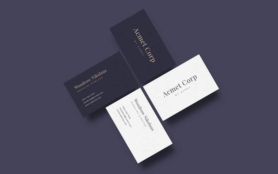 Free business card design ai css author business card mockup template colourmoves