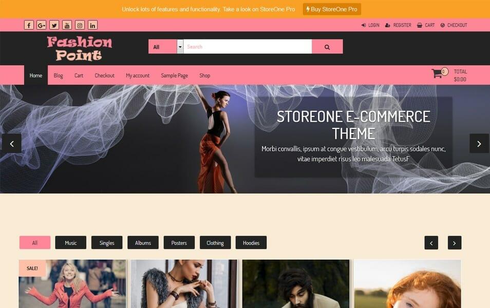 100+ Free eCommerce WordPress Themes 2018 » CSS Author