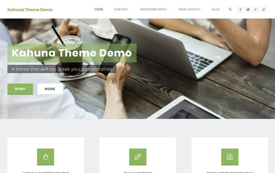 100+ Best Free Business WordPress Themes 2018 » CSS Author