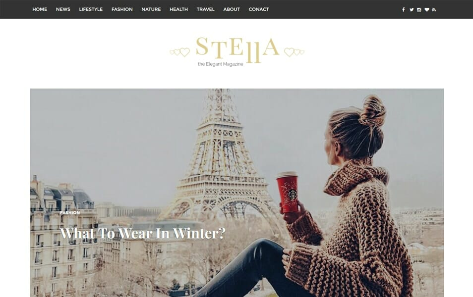 Stella Responsive Blogger Template