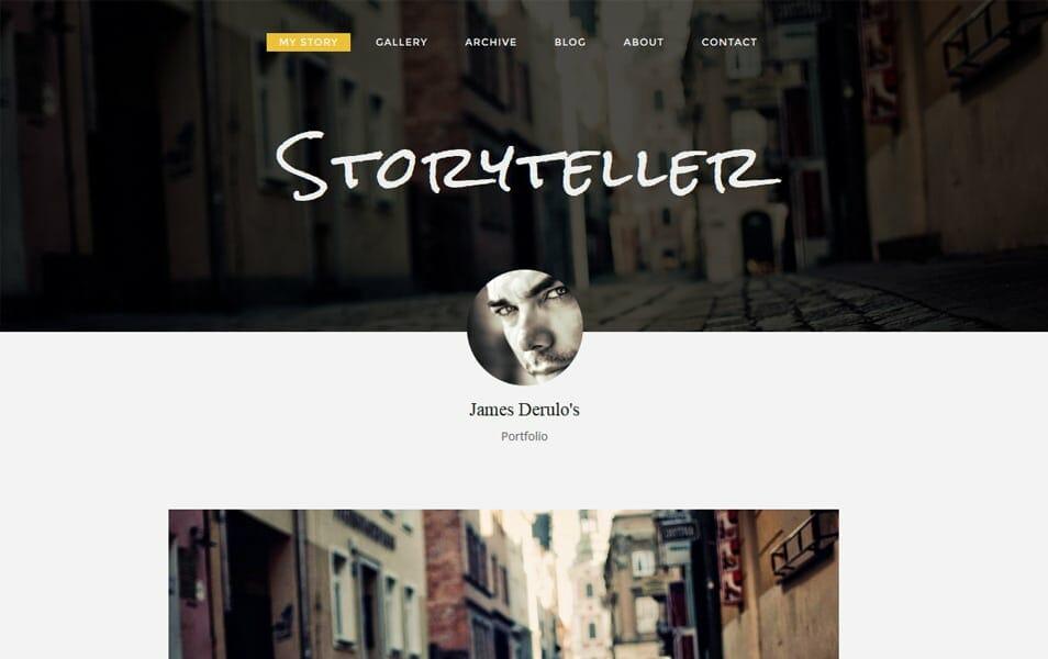 Storyteller Responsive Blogger Template