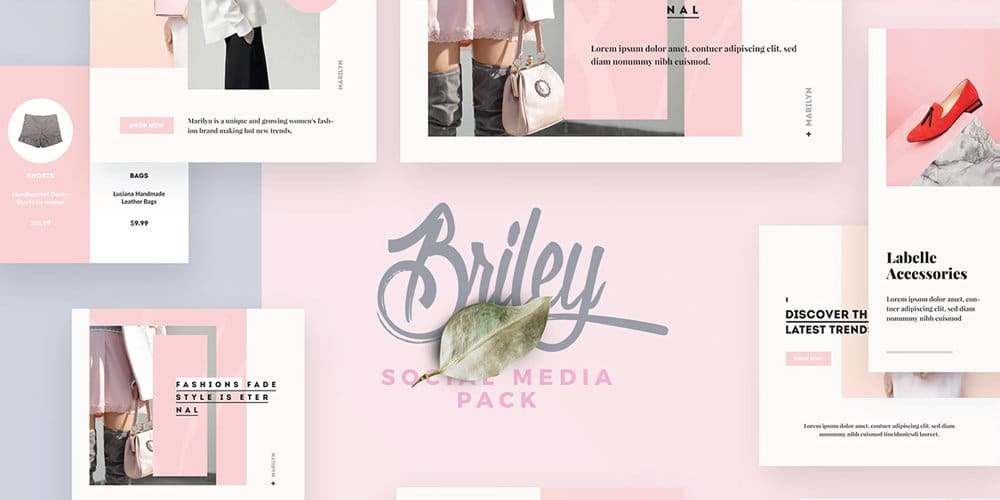 Briley Social Media Pack