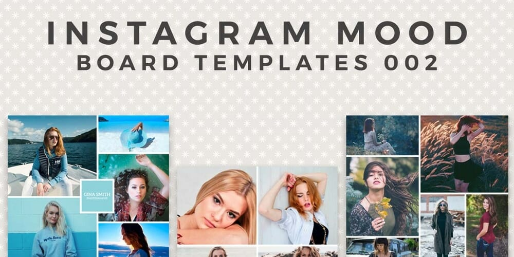 Free Instagram Mood Board Template