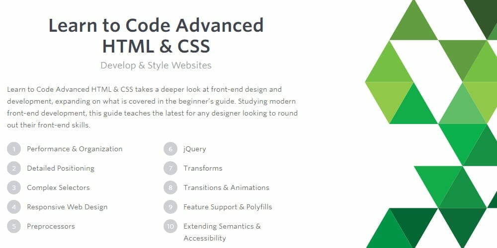 Learn-to-Code-Advanced-HTML-CSS