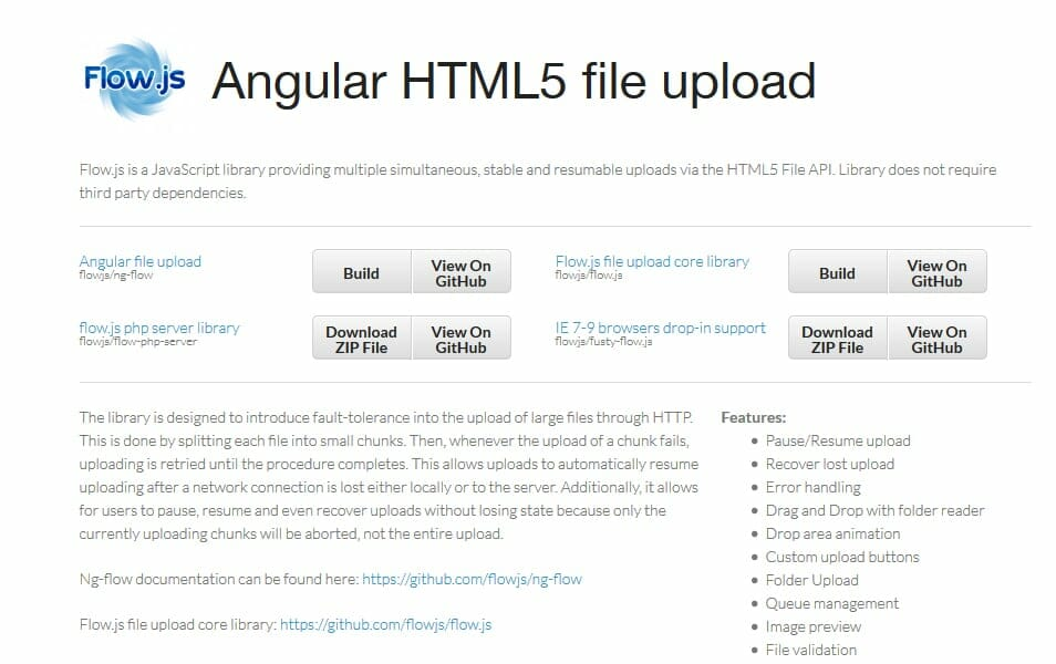25 Best Javascript File Upload Library Plugins Css Author