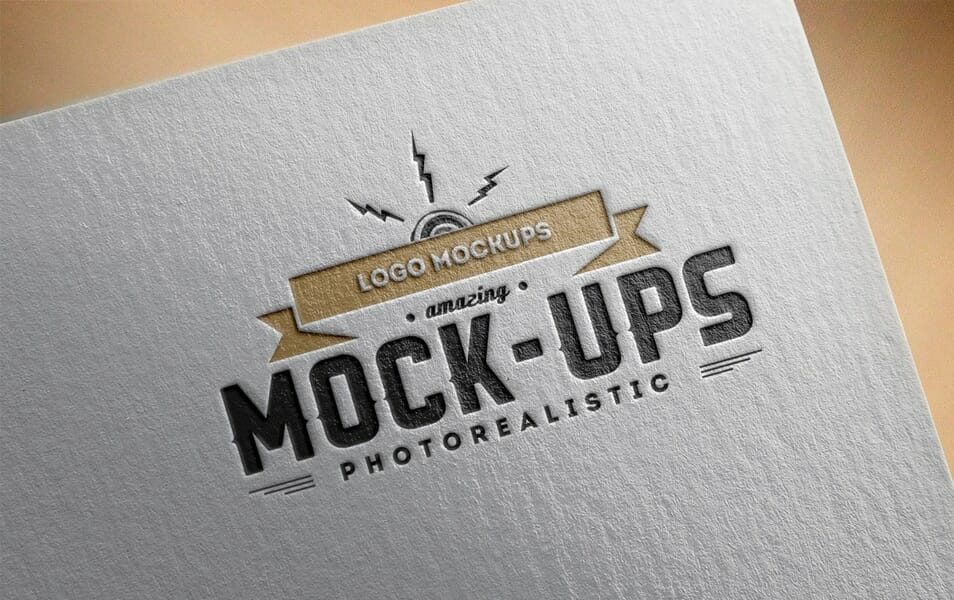 Logo Mock-Up / Paper Edition