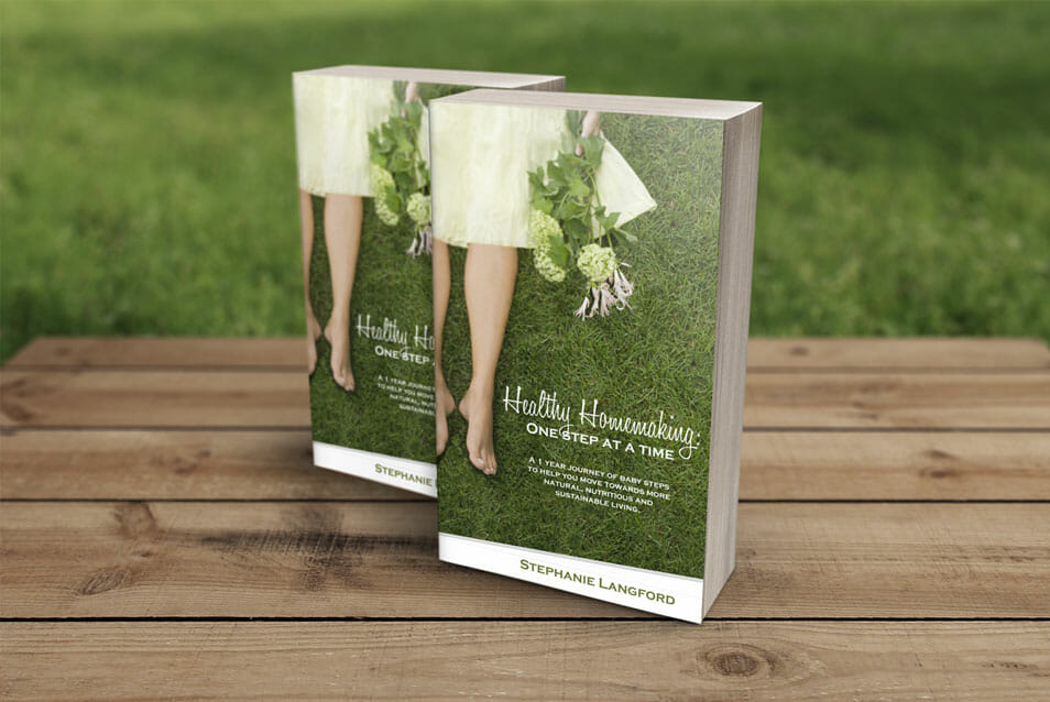 "4.25 x 7 ""Outdoor"" Paperback Book Mockup"