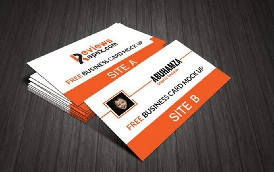 Photo Real Business Card Mockup