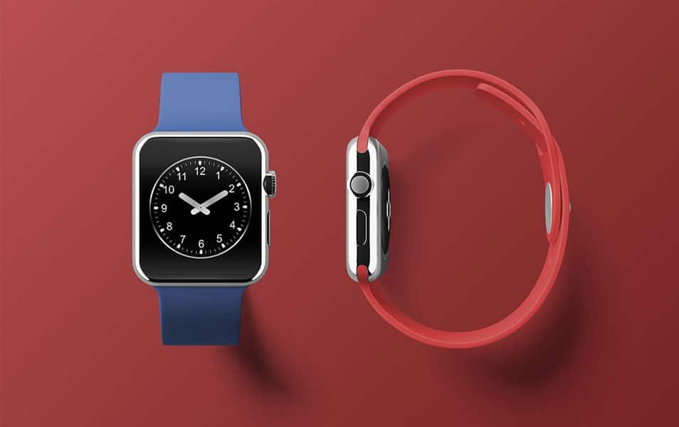 Apple Watch Free PSD Mockup