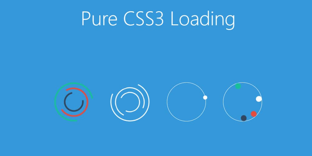 Pure CSS3 Loading