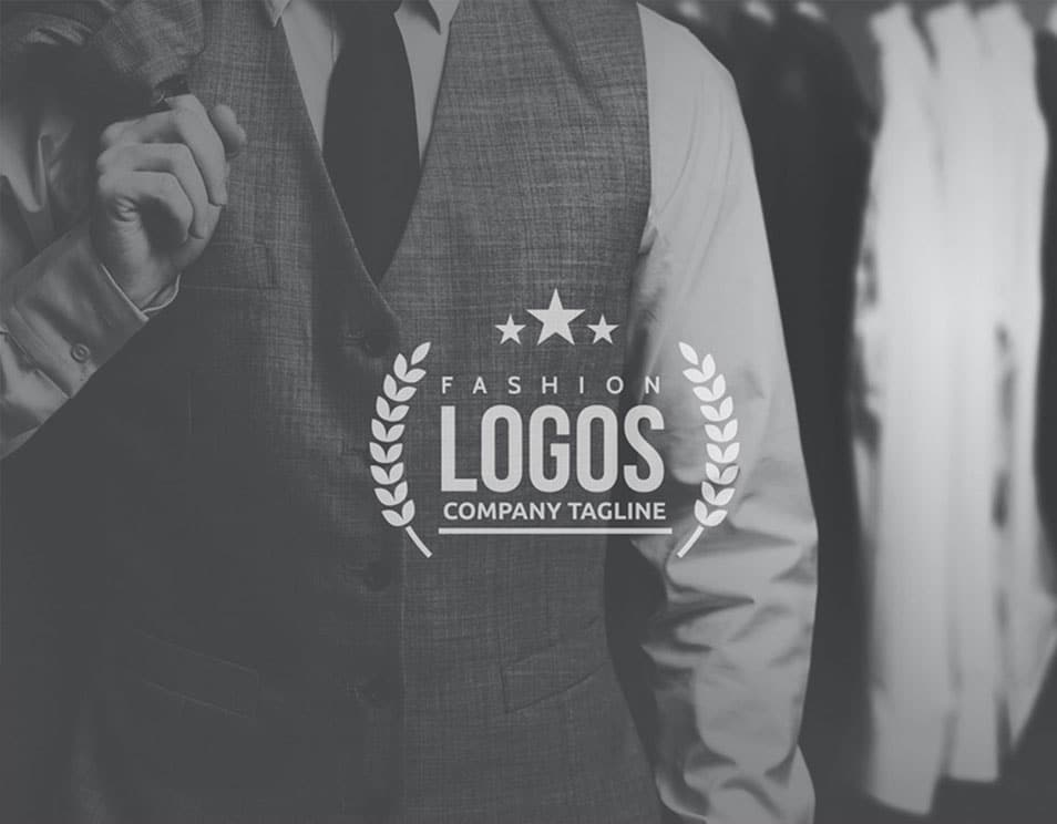 Time Saving Fashion Logo Presentation Template